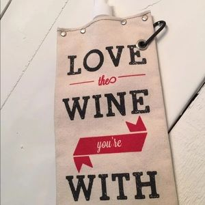 Other - Neat Love The Wine Your With Bag Tote